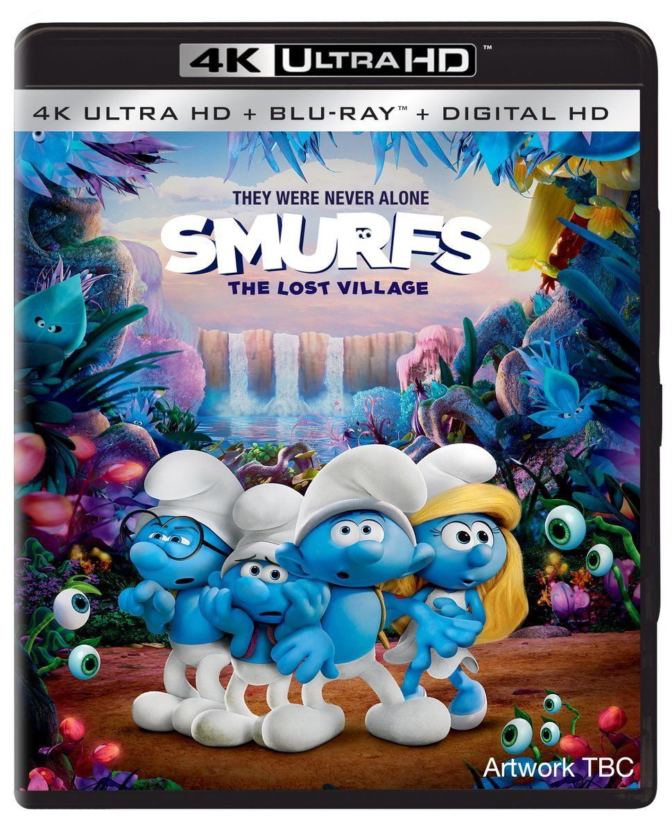 Smurfs The Lost Village 4K (2017) UHD Ultra HD Bluray