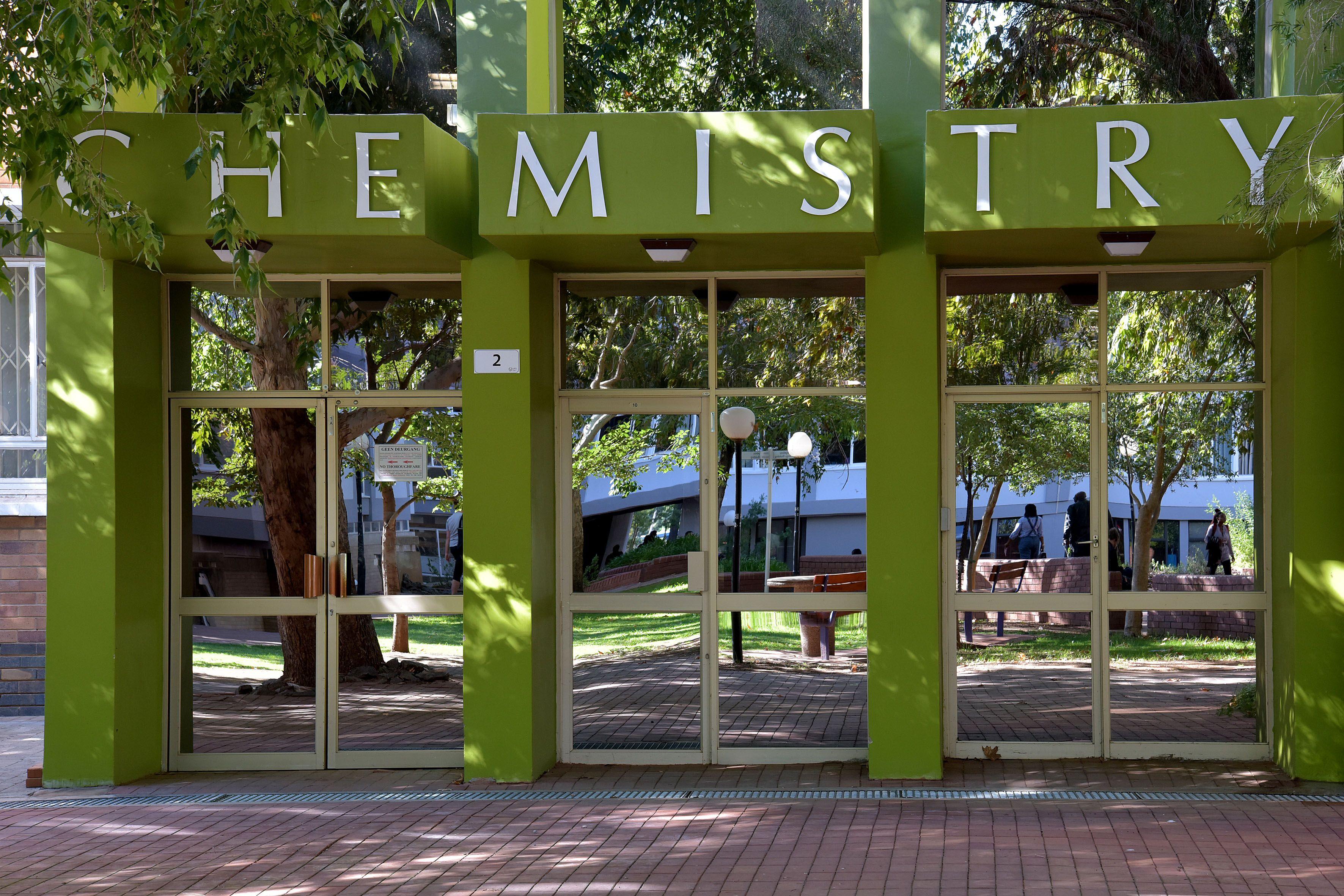 University of the Free State, Bloemfontein Campus, Chemistry building (Photo: Charl Devenish)
