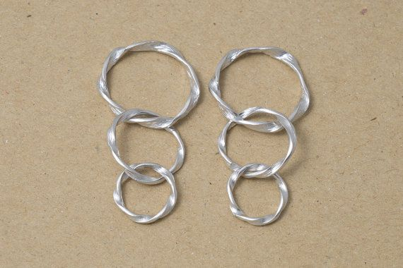 2 for $4 Cascading Ring Pendant  Jewelry Supplies Ring by MarvelousStuff