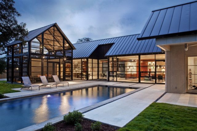 Pin on Glass Walls on Glass House Design Ideas  id=54261