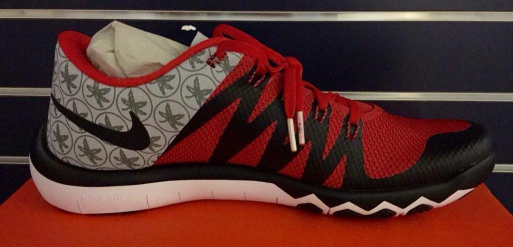 b7cd48a5a9e6e Nike Free Trainer 5.0 Ohio State PE