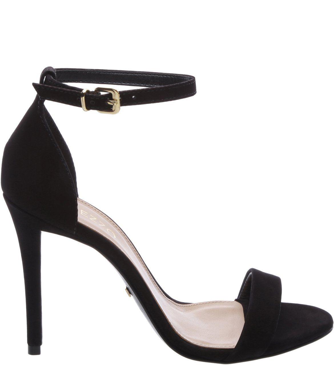 Sandália Nobuck Isabelli Preta | Sapatos femininos pretos