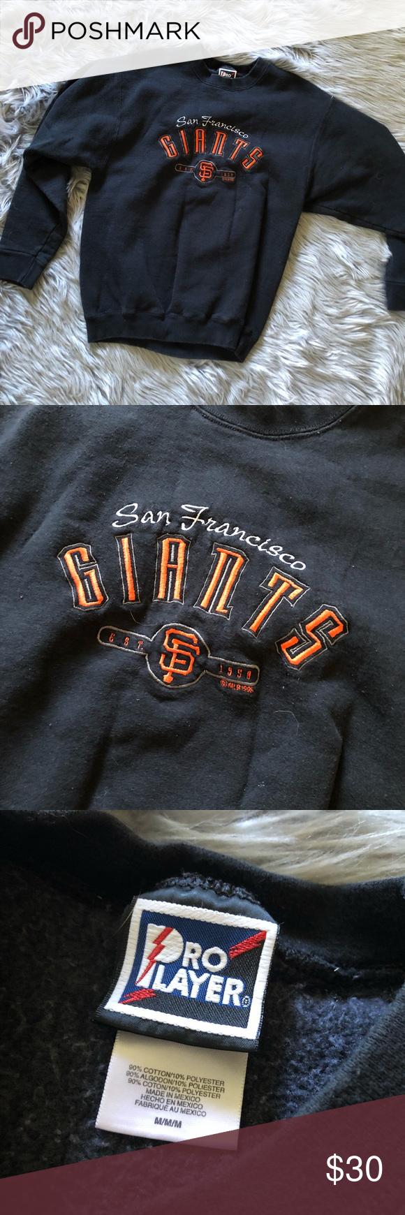 Vintage San Francisco Giants Crewneck Sweatshirt Crew Neck Sweatshirt Sweatshirts Sweatshirt Shirt [ 1740 x 580 Pixel ]