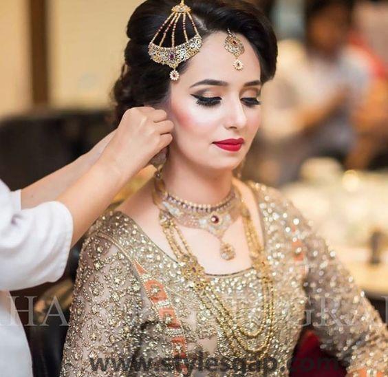 Nikkah Day Bridal Wedding Dresses Designs 2016-17 Collection   StylesGap.com