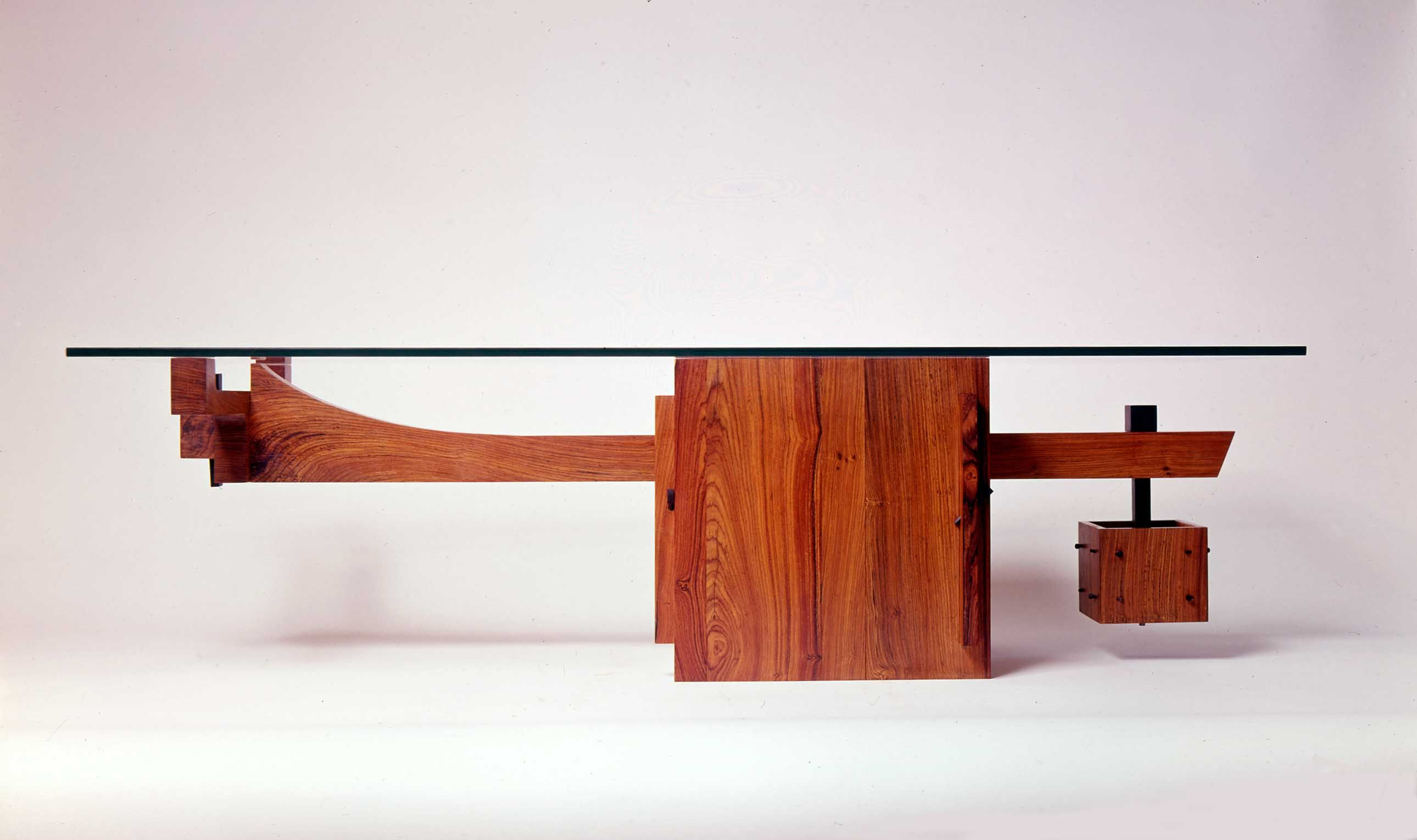 The Coffee Table As A Study In Gravity Cantilever Cocobolo Ebony Gl
