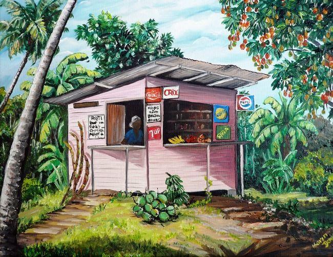 TRINIDAD ROTI SHOP by KARIN DAWN BEST