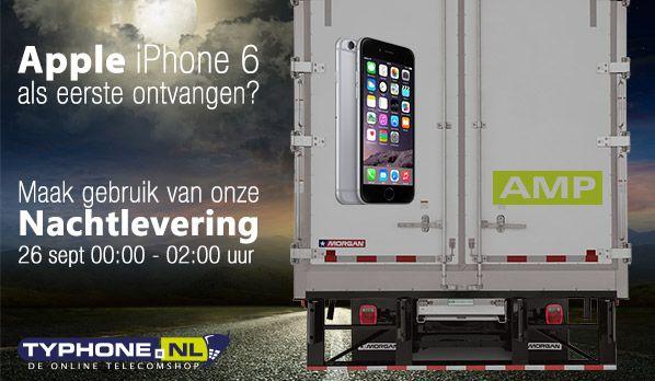 #iPhone6Express. Wij leveren de iPhone 6 als eerste in Nederland. Vanaf 00:01 's nachts! Pre-order vanaf 19 september.