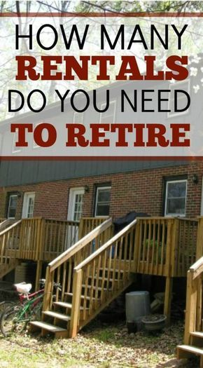 How Many Rental Properties Do You Need to Retire? Real estate and - rental property analysis spreadsheet
