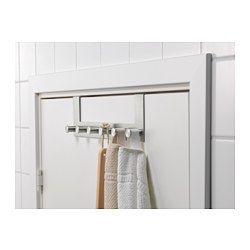 ikea grundtal deurhanger wordt over de deur gehangen waardoor je loze ruimte kan. Black Bedroom Furniture Sets. Home Design Ideas