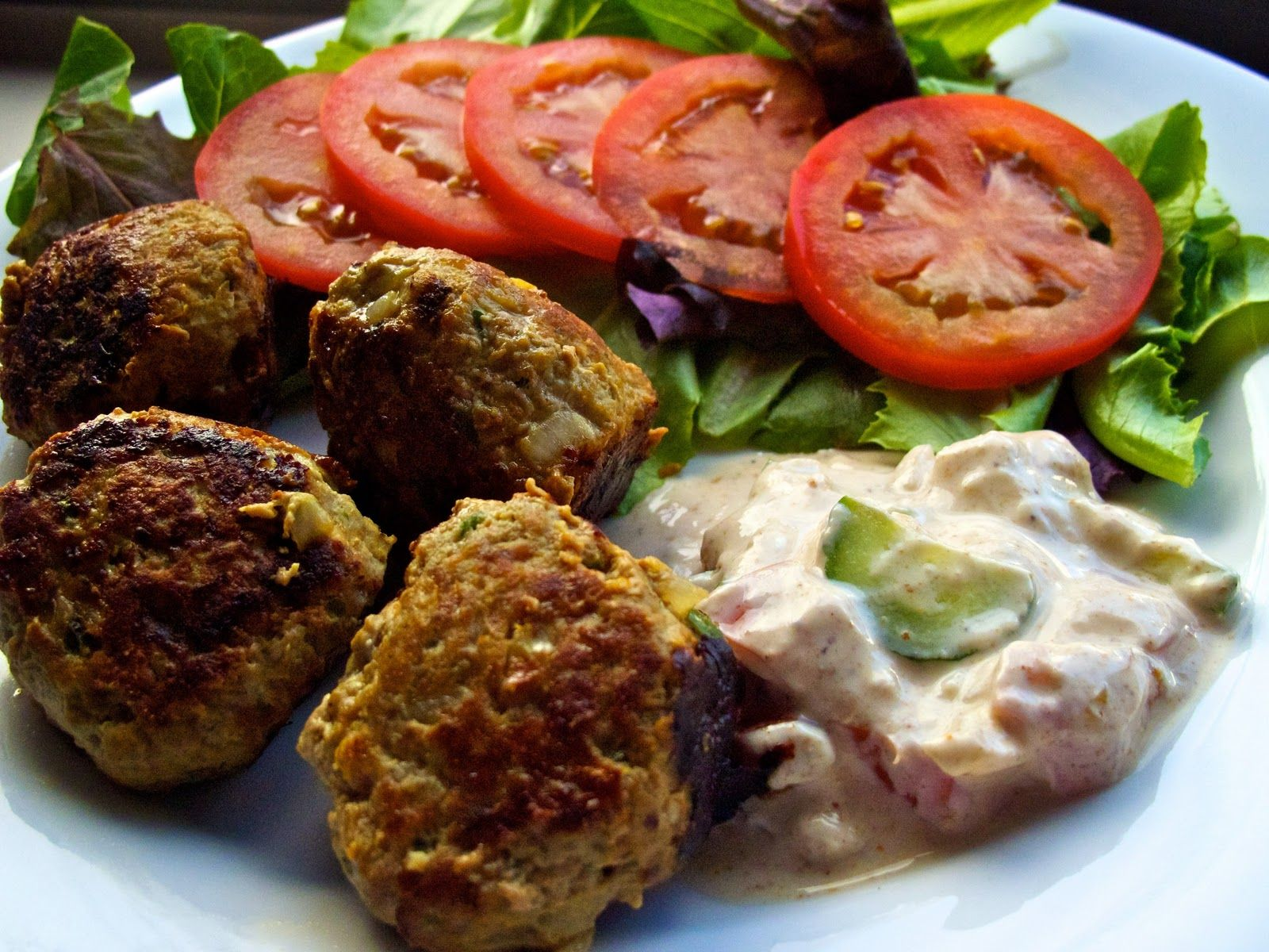 beef & turkey Indian meatballs @ cupcakesandcurry.blogspot.co.uk