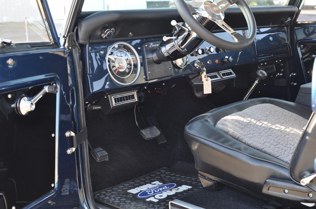 Blue Bronco Interior Classic Bronco Early Bronco Bronco