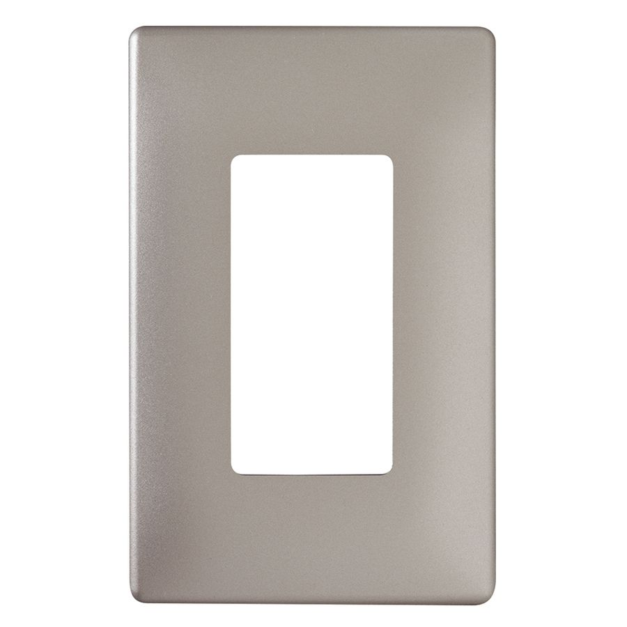 Wall Plates Lowes Legrand Radiant 1Gang Nickel Single Decorator Wall Plate  Dream