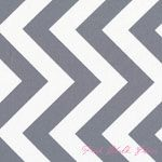 Curtains for girls room? Half Moon Modern Big Zig Zag Steel [MODA-32349-21] - $9.95 : Pink Chalk Fabrics is your online source for modern quilting cottons and sewing patterns., Cloth, Pattern + Tool for Modern Sewists
