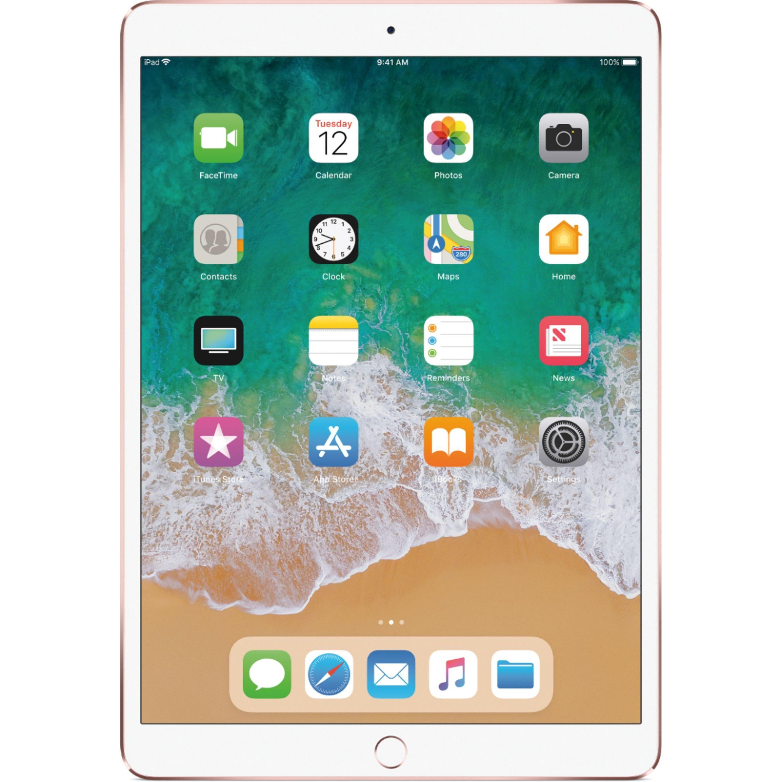 iPad Pro 10.5Inch 2nd Gen (June 2017) 256GB Rose Gold