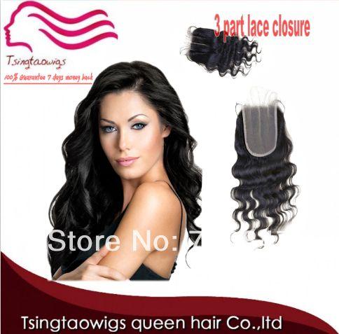 CHEAP BRAZILIAN VIRGIN HAIR SWISS  LACE TOP CLOSURE  Body Wave 3.5x4 Middle 3 Way Part Bleached Knots Queen Hair Top Closure - http://www.aliexpress.com/item/CHEAP-BRAZILIAN-VIRGIN-HAIR-SWISS-LACE-TOP-CLOSURE-Body-Wave-3-5x4-Middle-3-Way-Part-Bleached-Knots-Queen-Hair-Top-Closure/1806052272.html