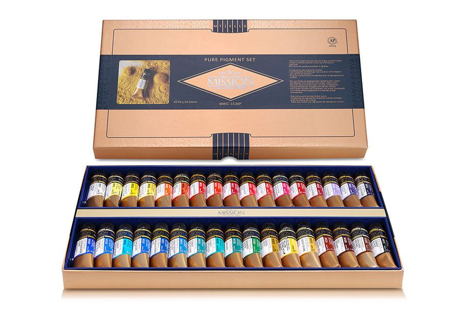 Mijello Mission Gold Class Watercolor Paint Pure Pigment 34 Colors