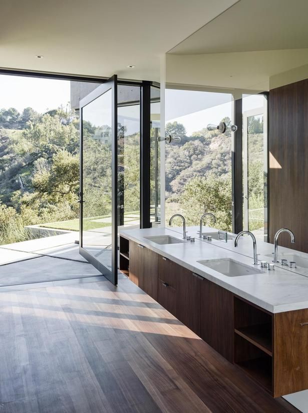 Oak Pass Main House | Walker Workshop; Photo: Joe Fletcher | Archinect