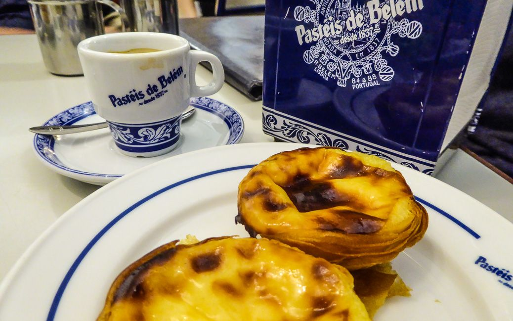 Die zurecht berühmten #Kuchen von #Pasteis de #Belem © Gudrun Krinzinger