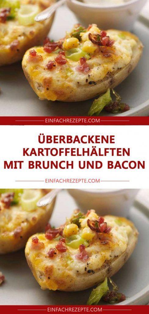 Photo of Gebackene Kartoffelhälften mit Brunch und Speck 😍 😍 😍