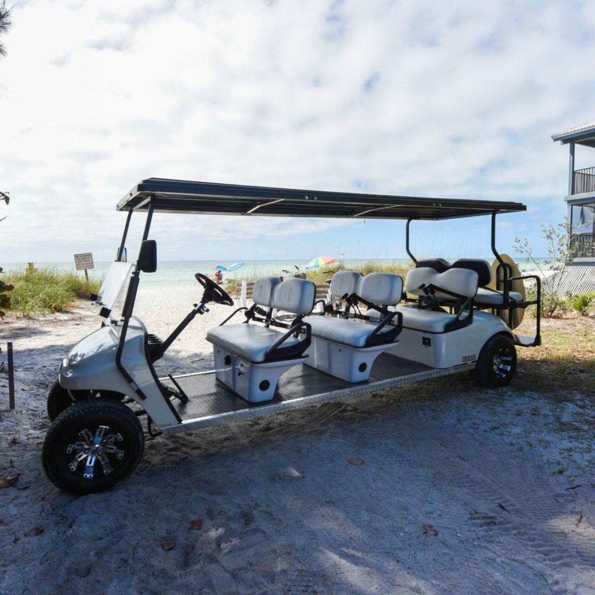Golf cart 8 passenger ami adventure rentals vacation
