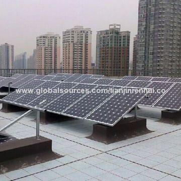 China 1mw Fix Tilt Flat Roof Solar Panel Mounting Brackets Of Pv Bracket For Solar Module Support Roof Solar Panel Solar Solar Panel Mounts