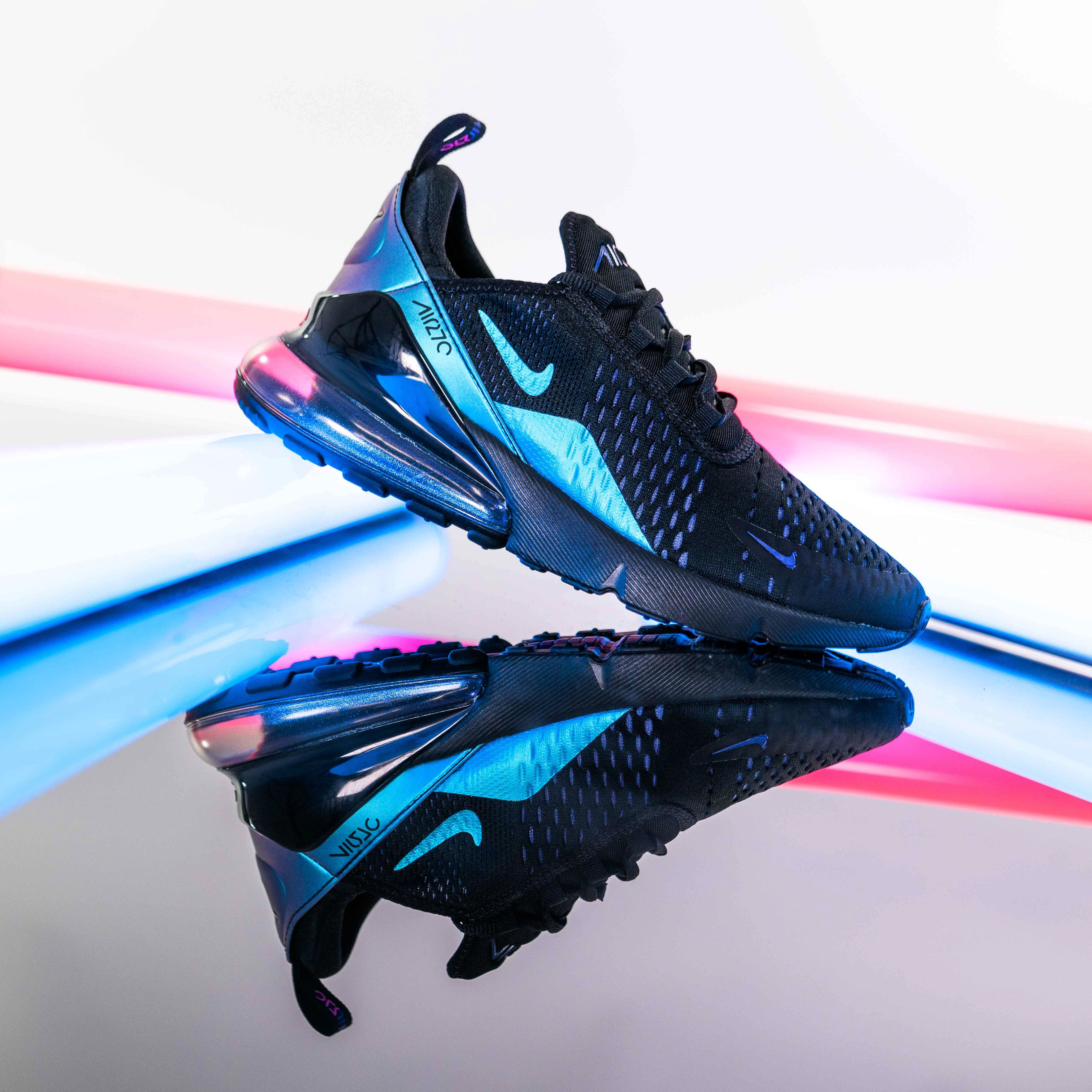Nike Air Max 270 Throwback Future Black Nike Shoes Blue Black Nike Shoes Nike Air Max