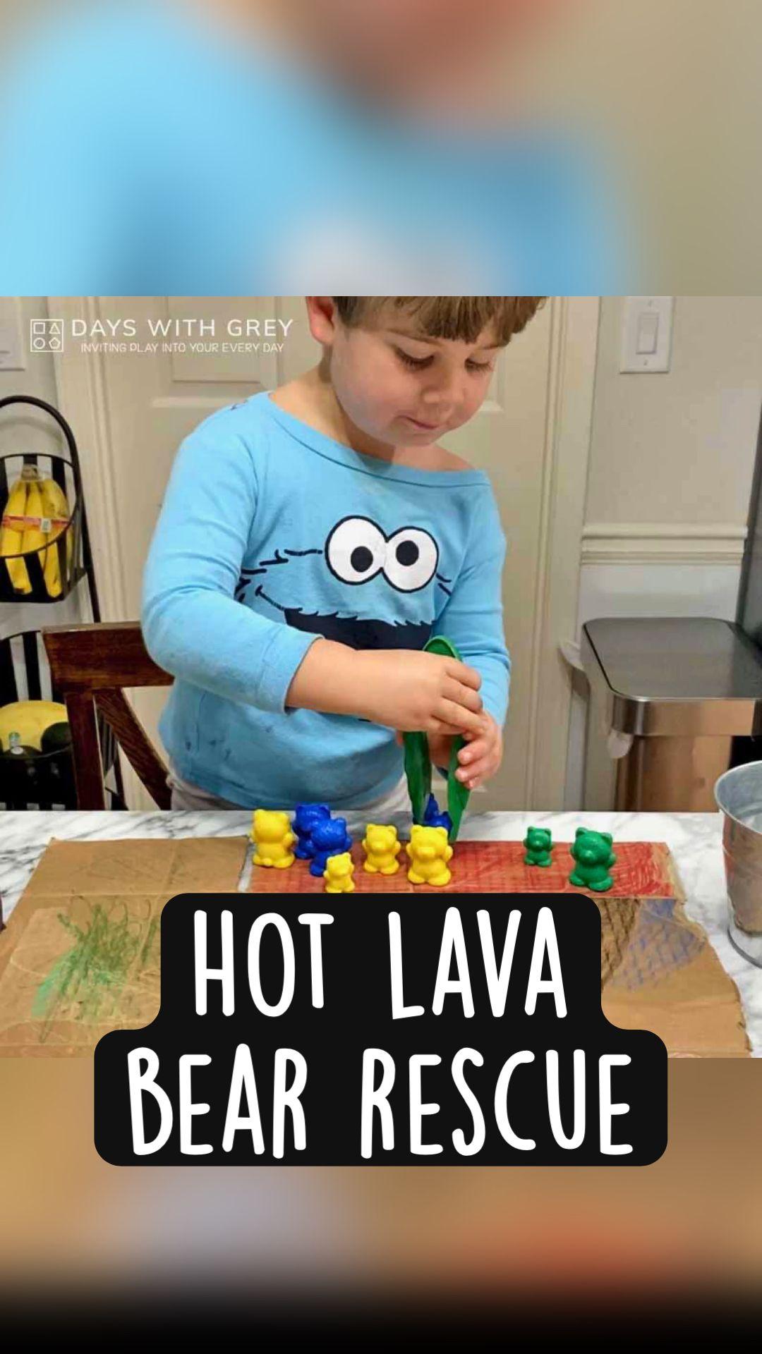Hot Lava  Bear Rescue