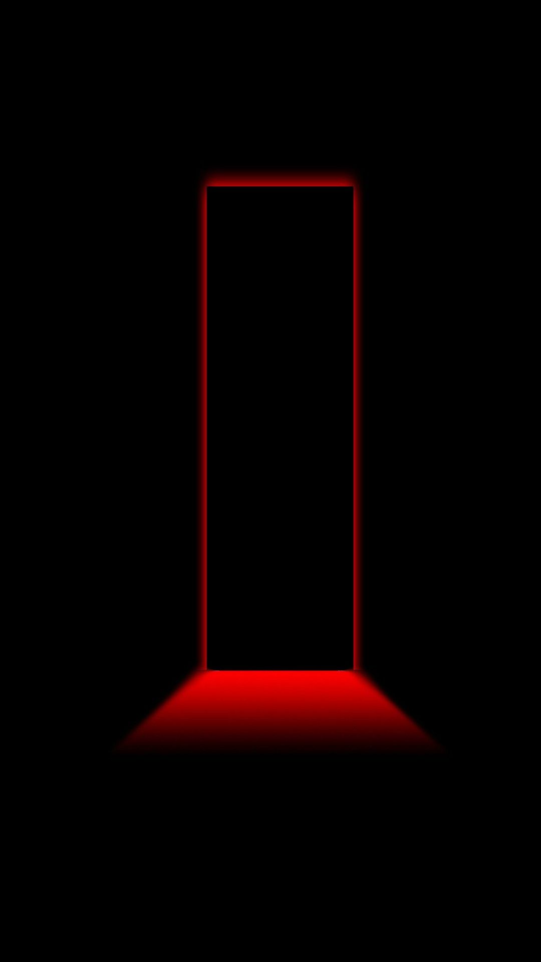3d Black And Red Iphone Wallpaper