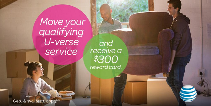 When you move to a new #home it's important to get connected quickly and easily. With U-verse we make it easy, just pack your DVR and take all of your recorded content with you. Learn more about how AT&T can help you pack and get a reward offer.