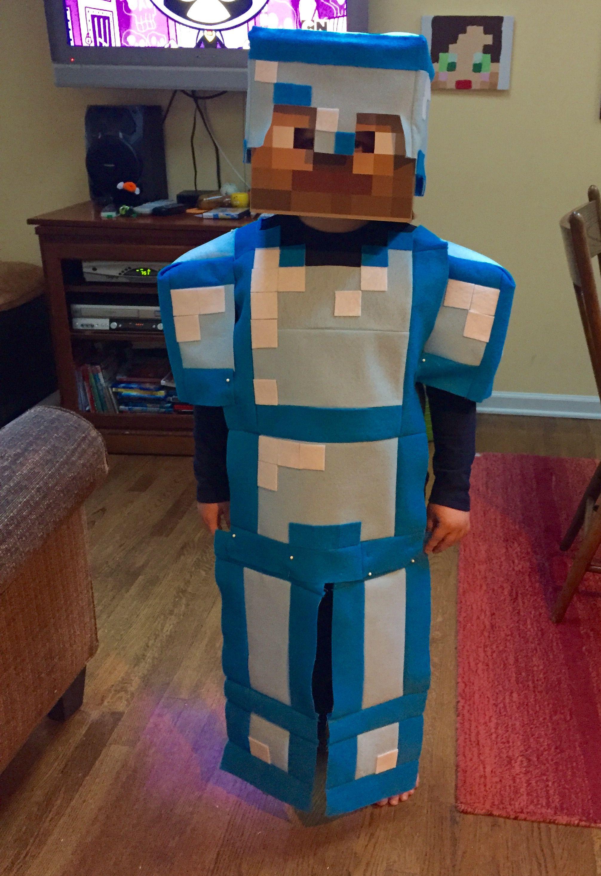 minecraft steve costume uk