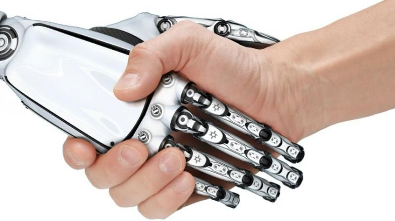 New self-powered smart skin to give robots sense of touch