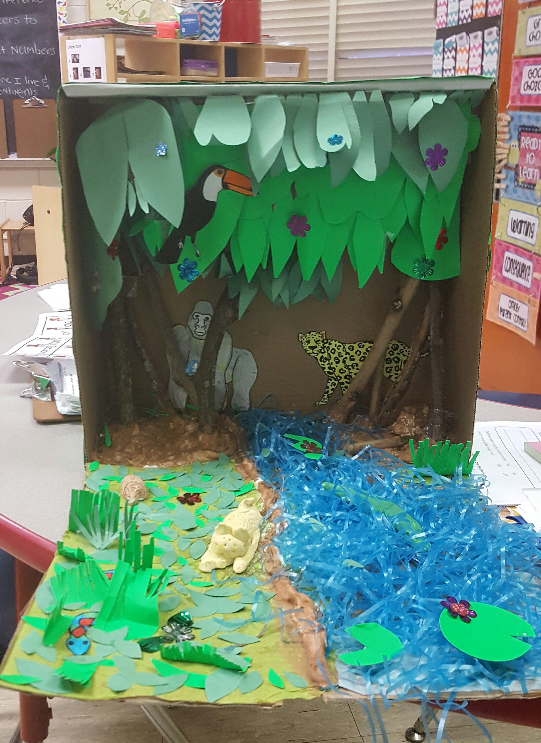 Jungle Habitat Diorama
