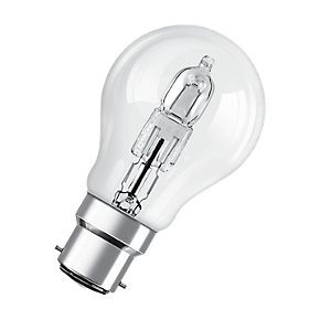 Osram Bc Classic Eco Superstar Gls Halogen Lamp Bc 77w Globe Lights Energy Efficient Bulbs Halogen Lamp