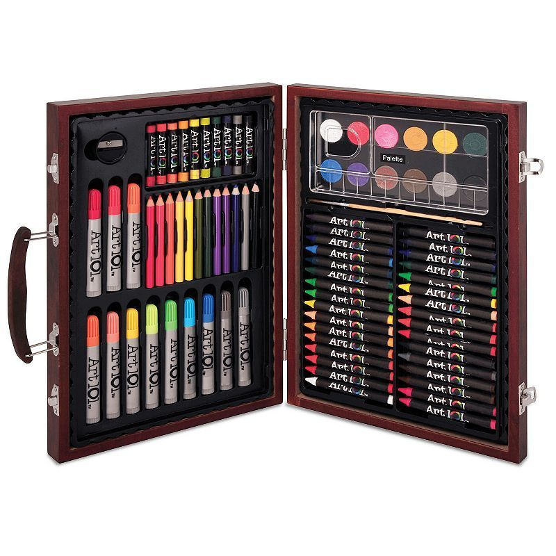 Art 101 82 Pc Wood Art Set Wood Art Palette Art Pallet Painting