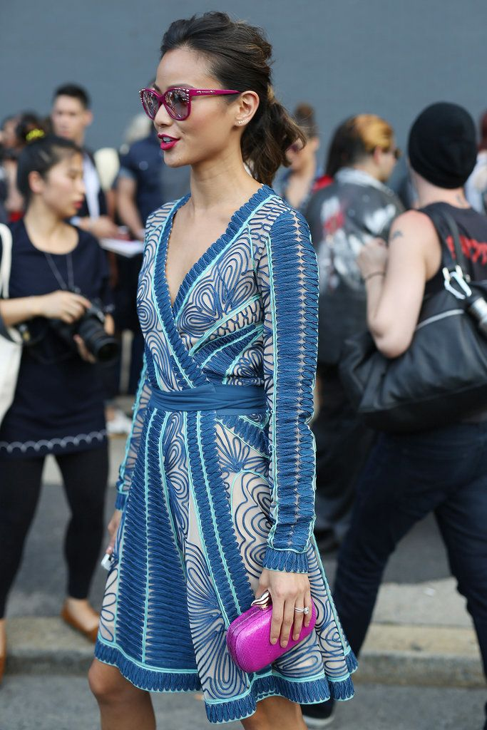 street style: New York Fashion Week Spring 2015...