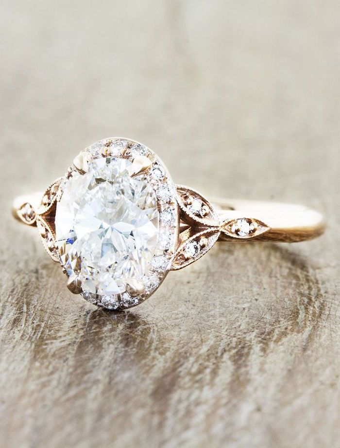 Engagement Rings with Glamorous Charm