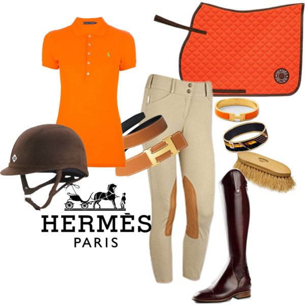 Hermes Inspired Riding Outfit Equestrian Outfits Cute Work Outfits