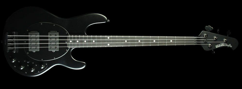 Ernie Ball Music Man Stingray Bass Hh Stealth Black Guitars I Want