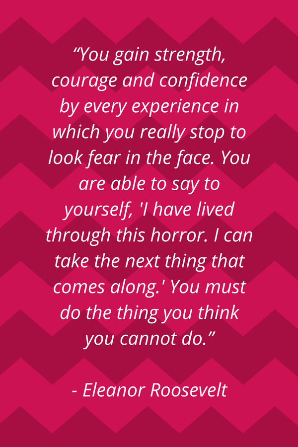 Words To Live By Eleanor Roosevelt Inspirational Quotes For
