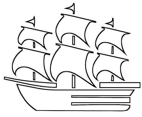 Gemi Boyama Sayfalari Boyama Sayfalari Cizimler Gemi