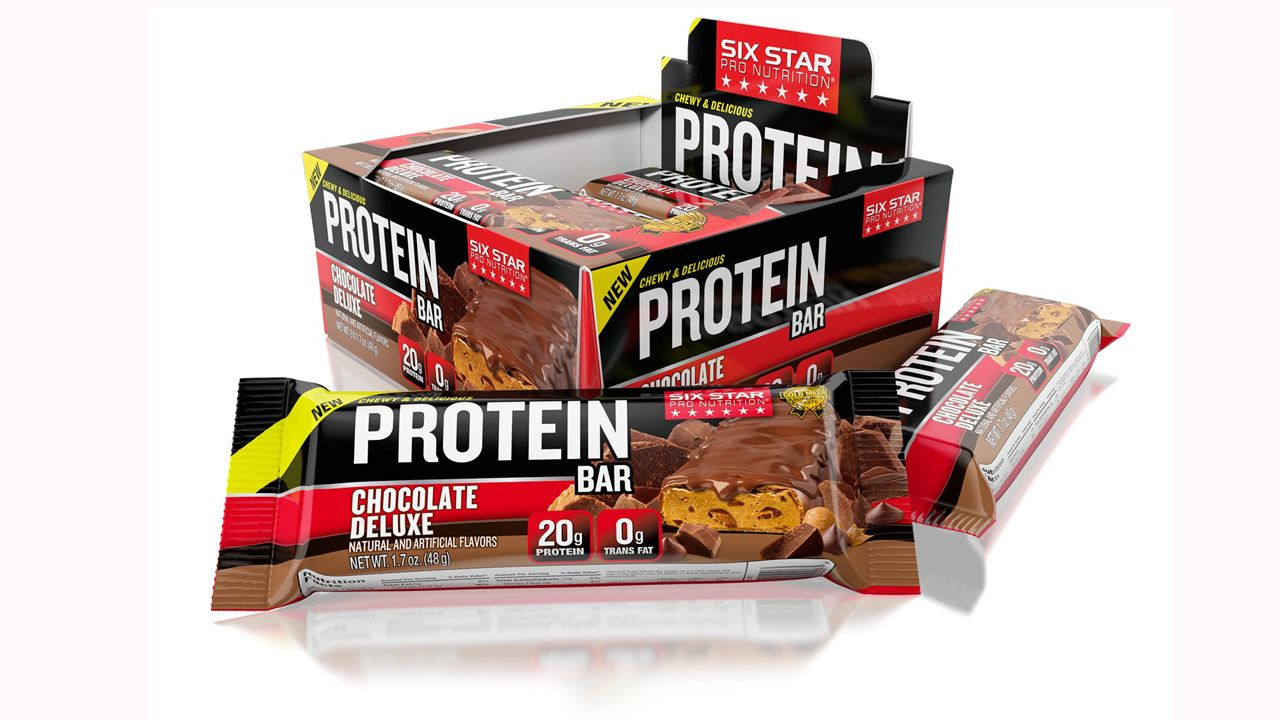 Iovate Health S Six Star Protein Bars With The Gold Medal On Every Box Iovate Six Star Six Star Protein Bars Gold Medal Pos Protein Bars Chewy Protein