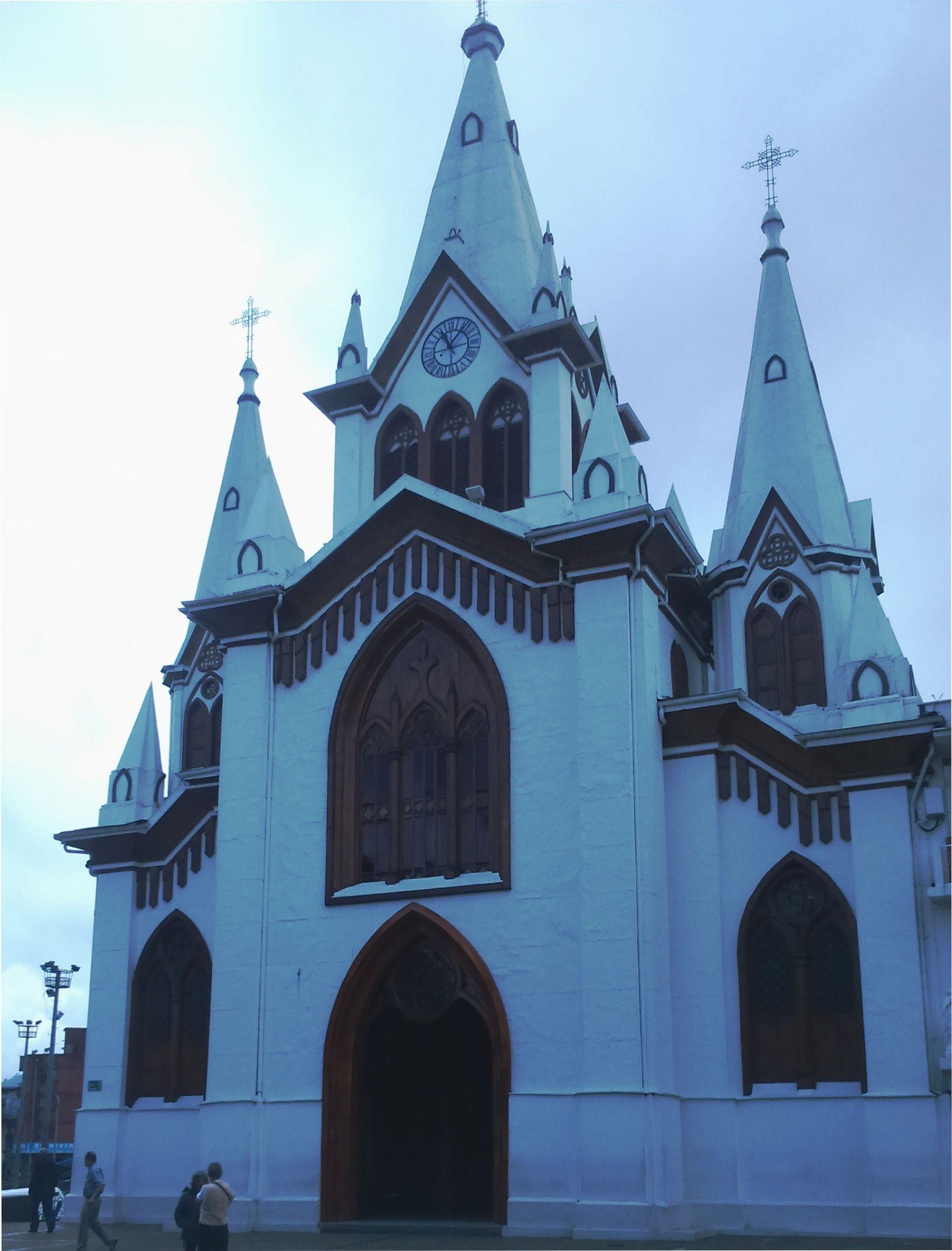 Iglesia La Inmaculada Concepción, Manizales Caldas. (con