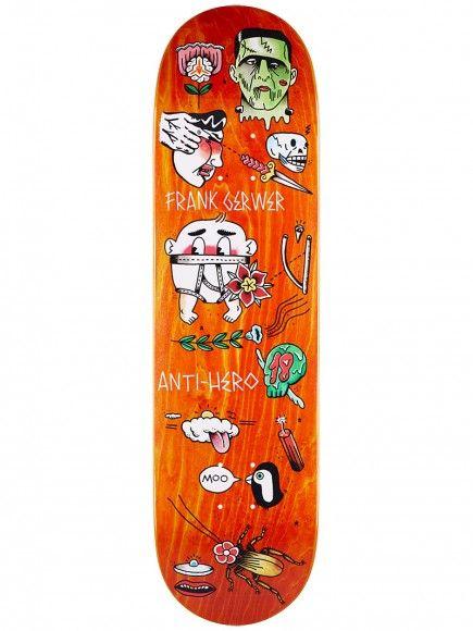 Anti Hero Gerwer Grape Dope Deck 8.4 x 32