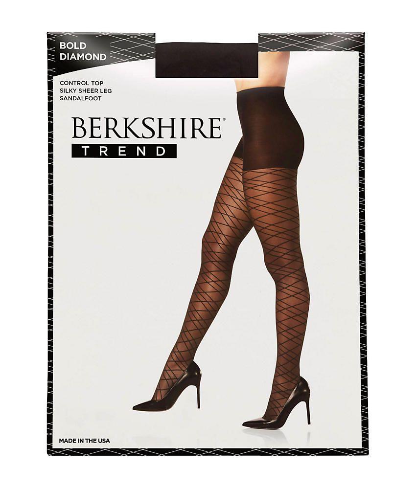 a88a689e47f Berkshire Bold Diamond Control Top Pantyhose Hosiery - Women s Diamond  Control Berkshire