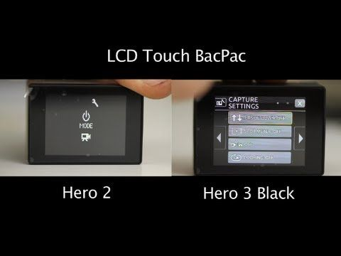 tip 107 gopro lcd touch bacpac on hero 2 3 gopro 3 rh pinterest co uk GoPro LCD BacPac Version GoPro LCD BacPac Screen