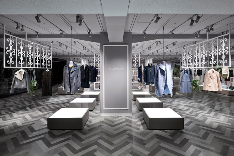 Nendo Designs Compolux Women S Luxury Clothing Shop In