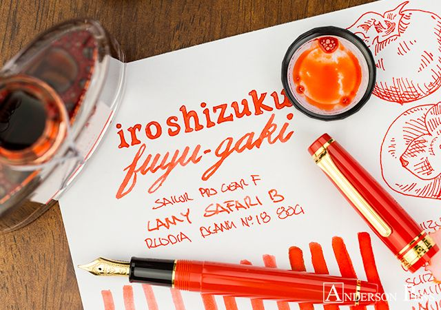 Thinkthursday Iroshizuku Fuyu Gaki With Images Iroshizuku