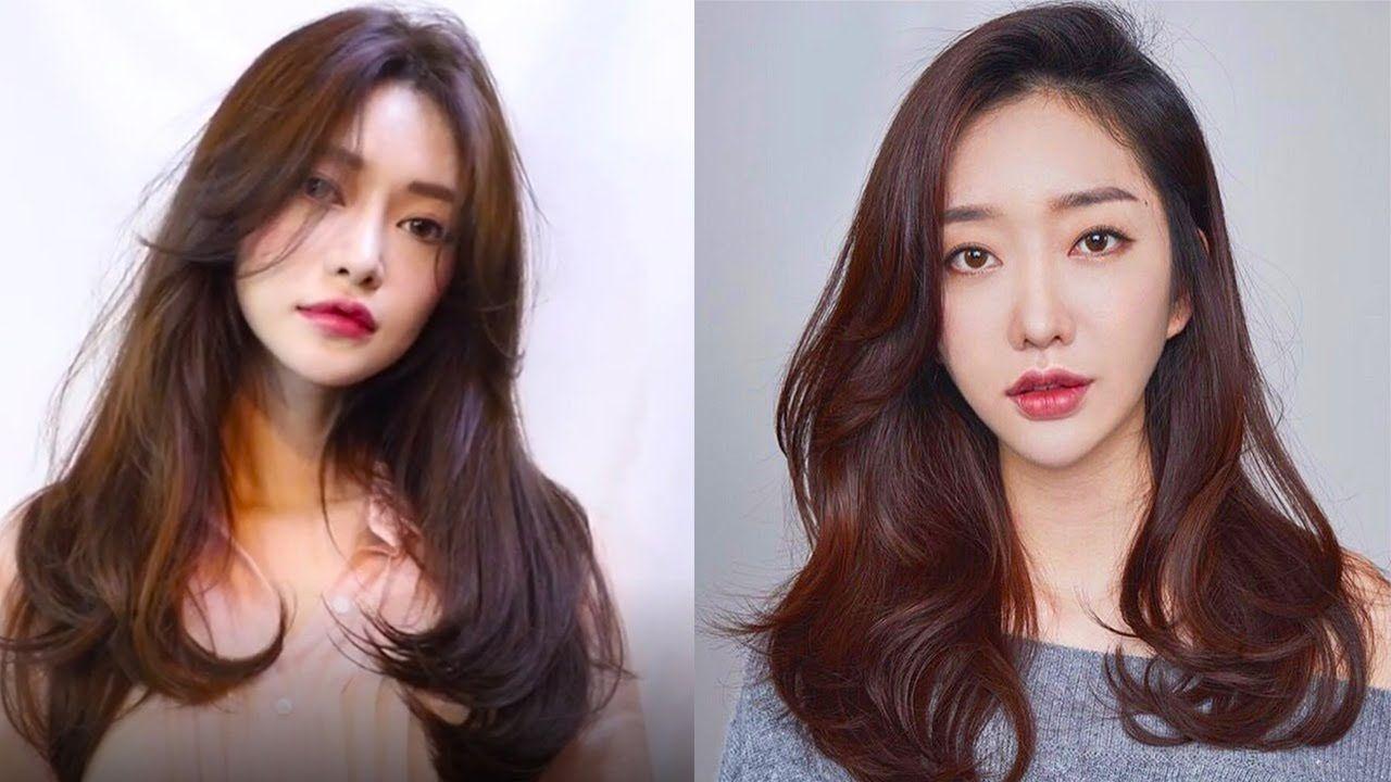 8 Beautiful Korean Hairstyles 2019 Easy Cute Hair Ideas Compilation Korean Hairstyle Asian Hair Korean Hairstyles Women