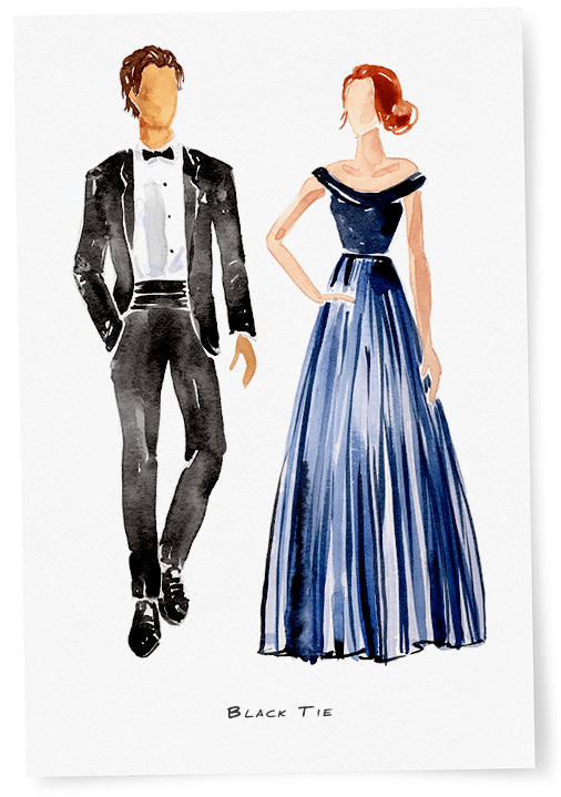 The Most Common (and Some Wedding Dress Codes