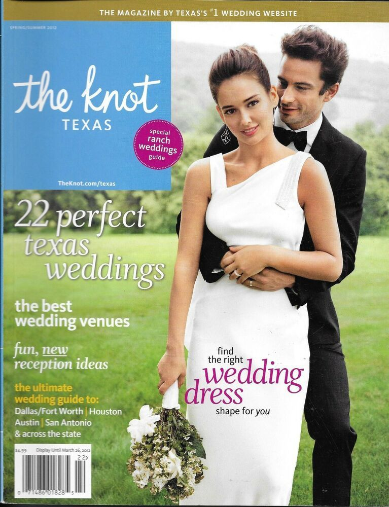 Details about The Knot Magazine Special Ranch Texas